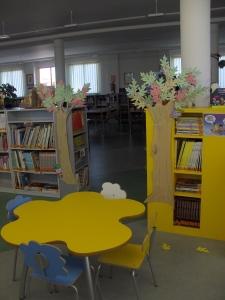 Bosque. Biblioteca de Pinilla.